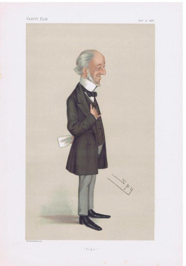 Charles Seely Original Vanity Fair Print