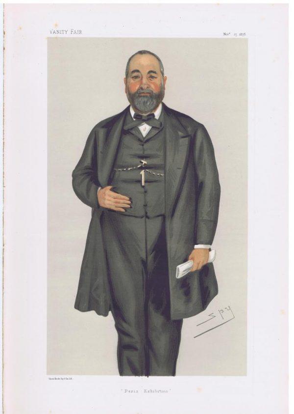 Philip Cunliffe Owen Original Vanity Fair Print