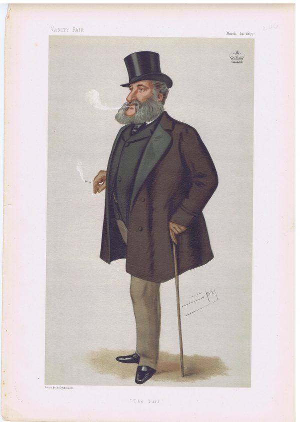Dudley Carleton Lord Dorchester Vanity Fair Print