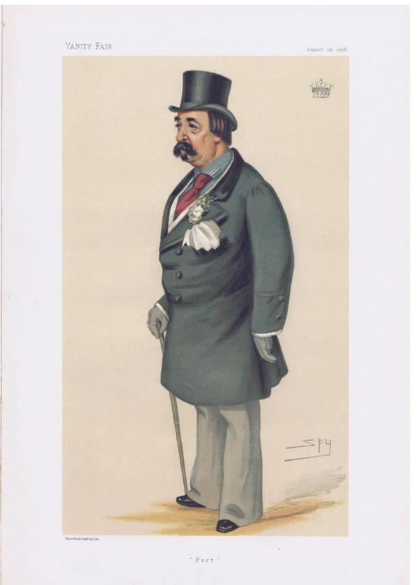 Henry Dawson-Damer Original Vanity Fair Print