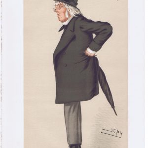 Poet Francis Hastings Doyle Original Vanity Fair Print