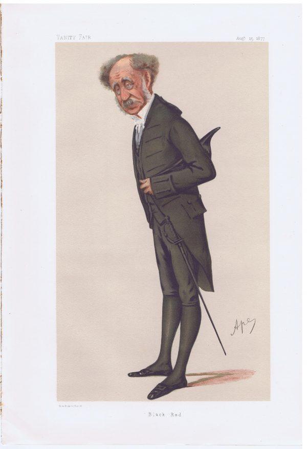 General William Knollys Original Vanity Fair Print