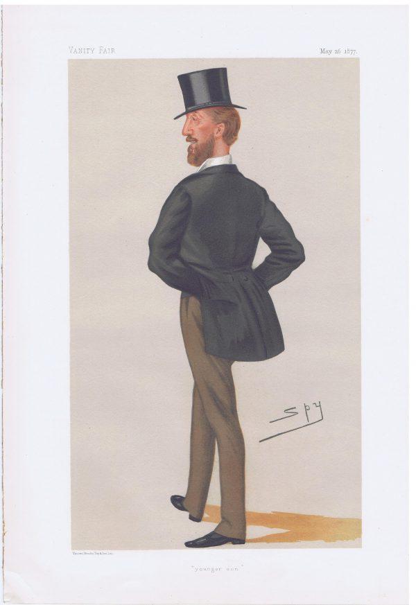 Lord Henry Frederick Thynne Original Vanity Fair Print