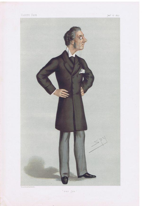 Joseph Chamberlain Original Vanity Fair Print