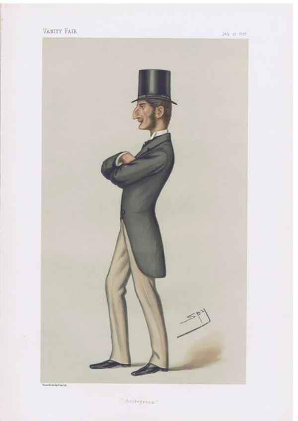Claud John Hamilton Original Vanity Fair Print