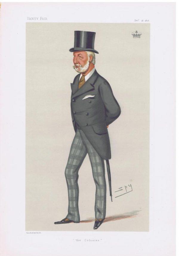 William Montagu Duke Of Manchester Vanity Fair Print