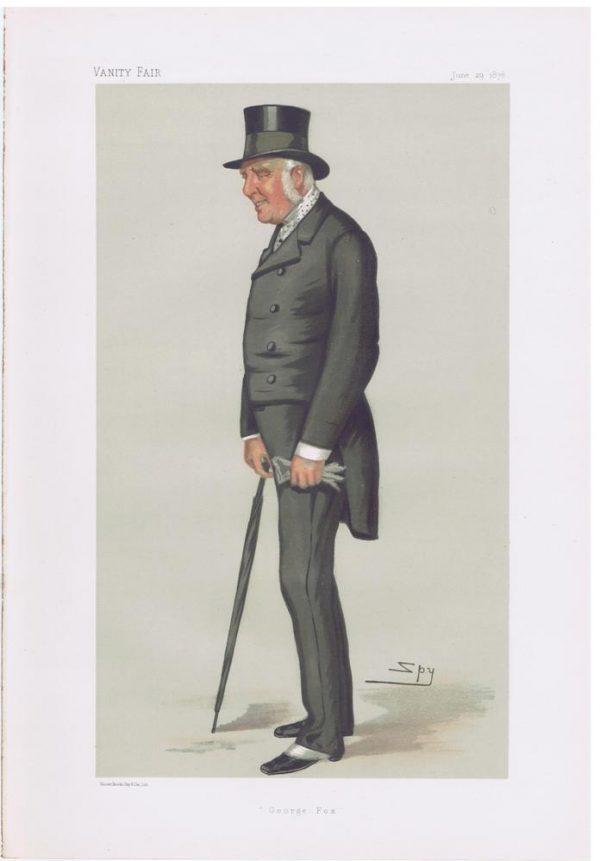 George Lane-Fox Original Vanity Fair Print