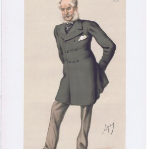William Duncombe Earl Of Feversham Vanity Fair Print