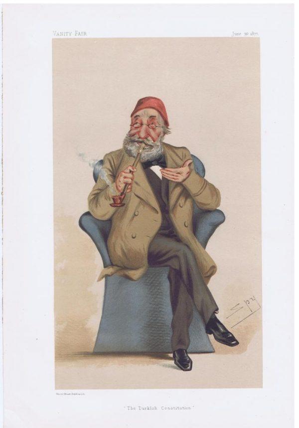 His Highness Midhat Pasha Vanity Fair Print
