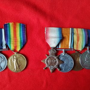 Family Royal Navy Medal Groups Victorian, WW1 & WW2 Service