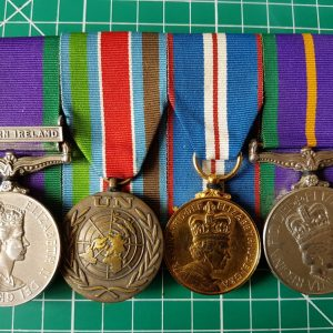 Accumulated Campaign Service Medal Group
