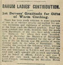 Belgian Refugees in Barnstaple