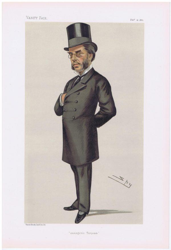 Morgan Howard Original Vanity Fair Legal Print