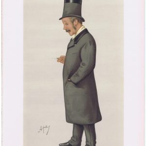Lieut Colonel Charles George Gordon Vanity Fair Print