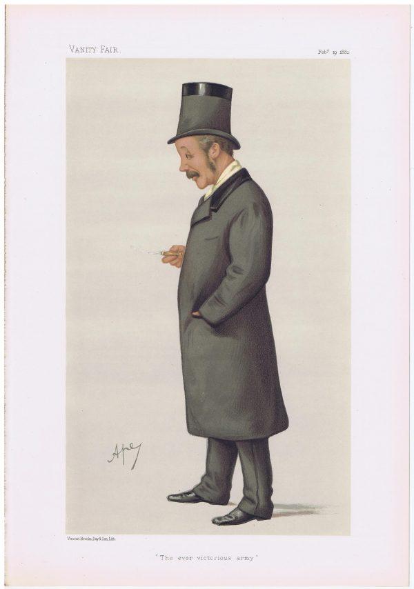 Lieut Colonel Charles George Gordon Vanity Fair Print