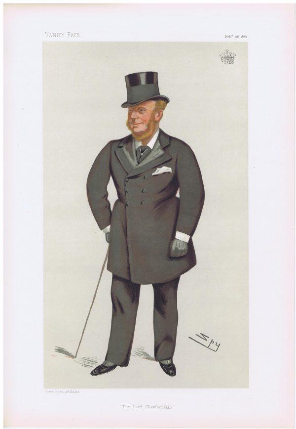 The Earl Of Kenmare Original Vanity Fair Print