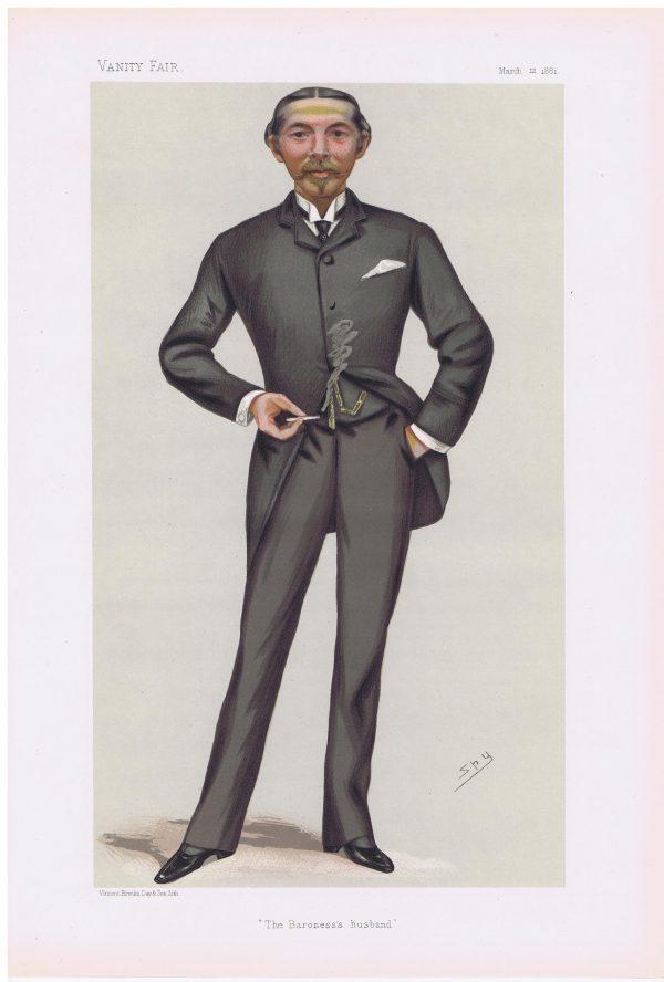 William Lehman Ashmead Burdett-Coutts Bartlett Vanity Fair Print