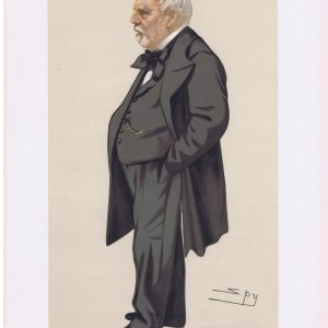Philip Rose Original Vanity Fair Print
