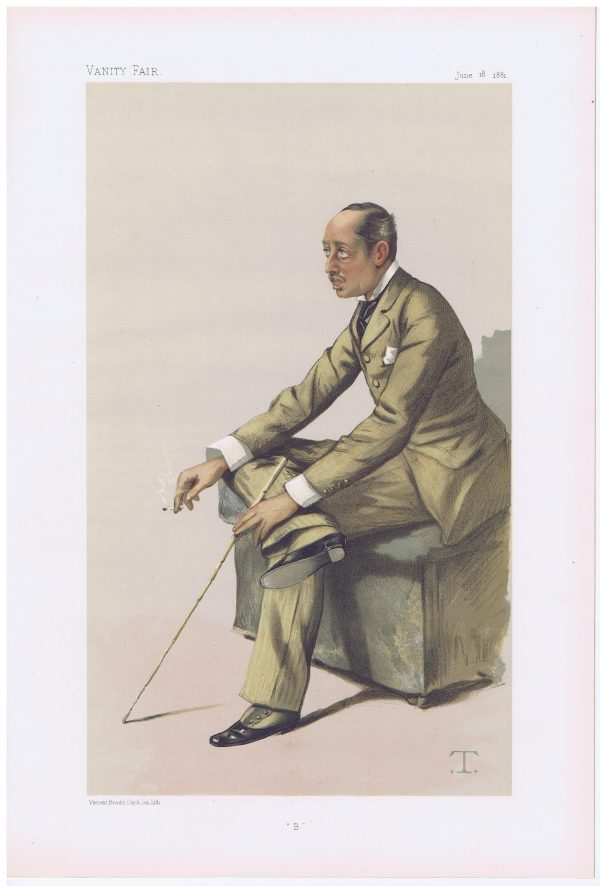 The Marquis of Blandford Vanity Fair Print