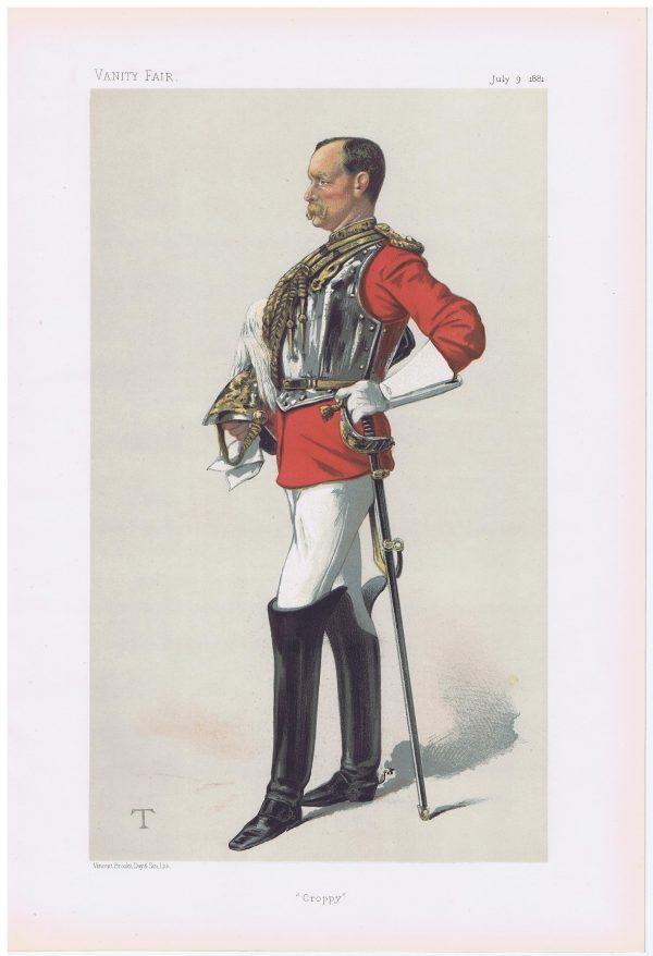 Colonel Henry Ewart Vanity Fair Print