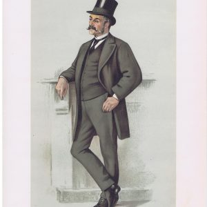 Major General Edwyn Sherard Burnaby Vanity Fair Print