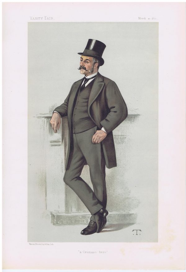 Major General Edwyn Sherard Burnaby Vanity Fair Print