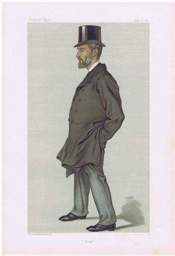 Thomas Thornhill Original Vanity Fair Print