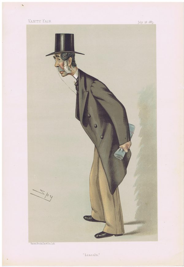 John Hinde Palmer Vanity Fair Print