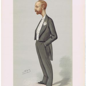 The Earl Of Onslow Original Vanity Fair Print