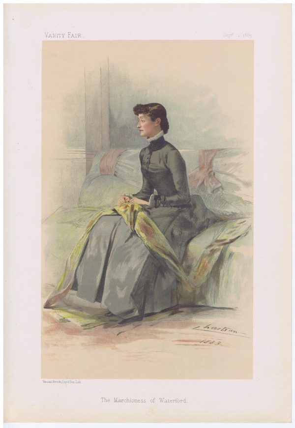 The Marchioness of Waterford Vanity Fair Print