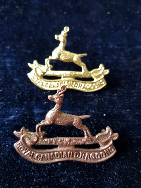Royal Canadian Dragoons Cap Badge