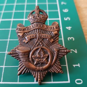 The Halifax Rifles Canadian Army Cap Badge