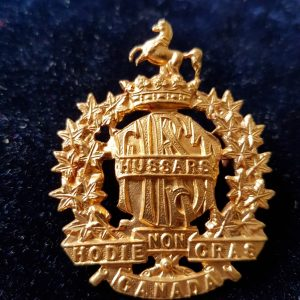 First Hussars Cap Badge