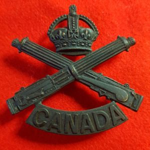 Machine Gun Corps of Canada Cap Badge