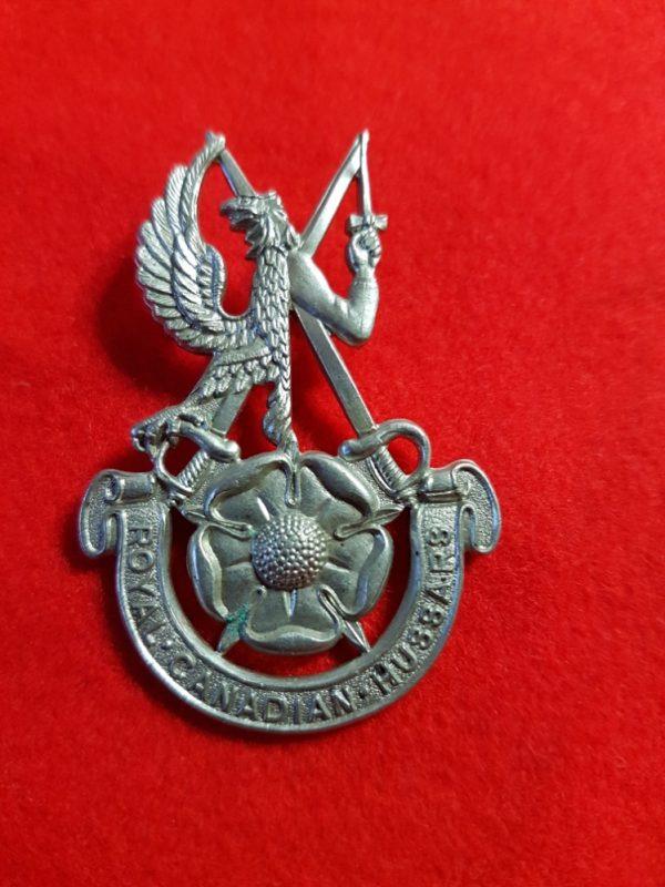 Royal Canadian Hussars Cap Badge
