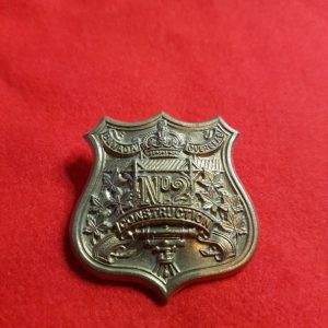 Canada Overseas No. 2 Construction Battalion cap badge