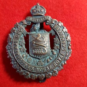 Lord Strathcona's Horse Royal Canadians cap badge