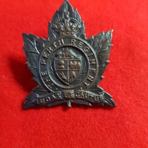 28th The Perth Regiment Canadian Cap Badge