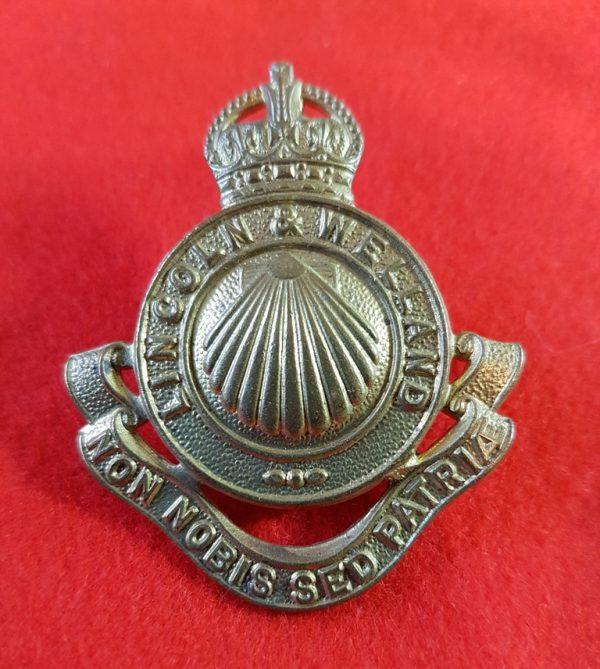 Lincoln and Welland Regiment Cap Badge