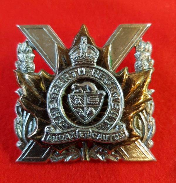 Perth Regiment Cap Badge