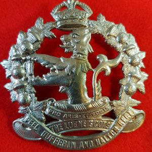 Canadian Army Lorne Scouts Cap Badge