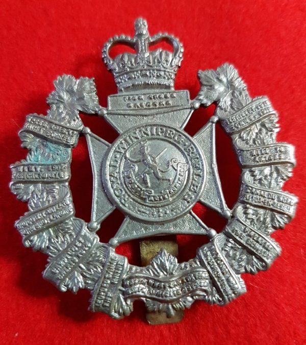 Royal Winnipeg Rifles Cap Badge