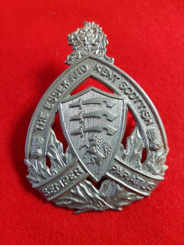 The Essex and Kent Scottish cap badge