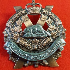 Calgary Highlanders Cap Badge