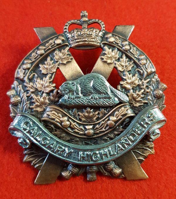 Calgary Highlanders Cap Badge