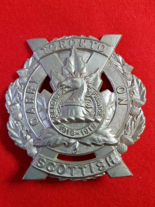 Toronto Scottish Regiment Cap Badge