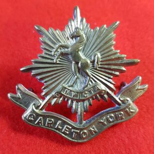 Carleton York Regiment Cap Badge