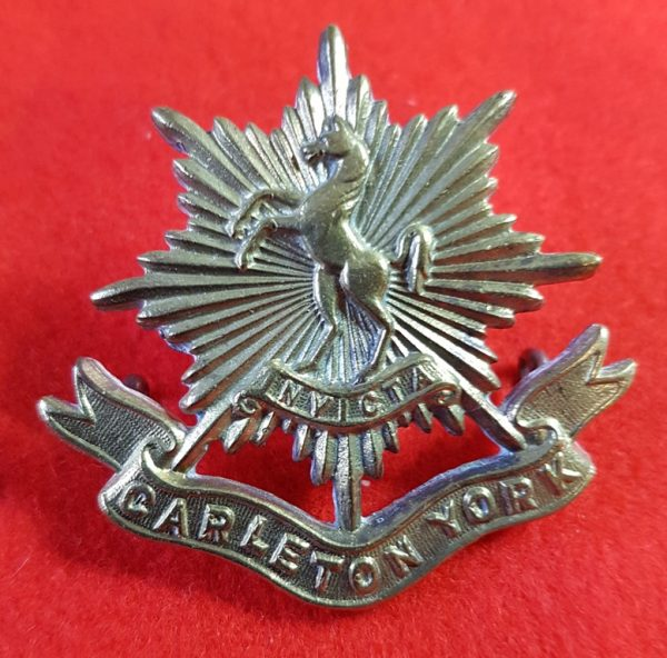 Carleton York Regiment Cap Badge