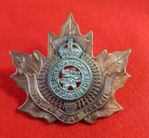 Cape Breton Highlanders Regiment Cap Badge