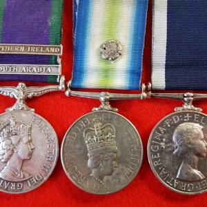 Royal Marines Falklands Medal Group